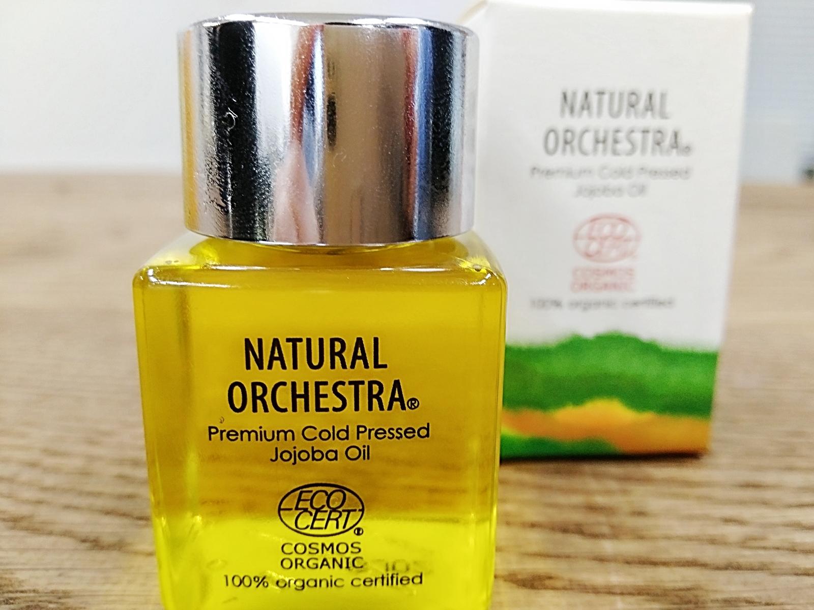 ギフトにも最適!!NATURAL ORCHESTRA 【オーガニックホホバオイル】はフランス&ヨーロッパの最高権威オーガニック認定を受けた最高品質です
