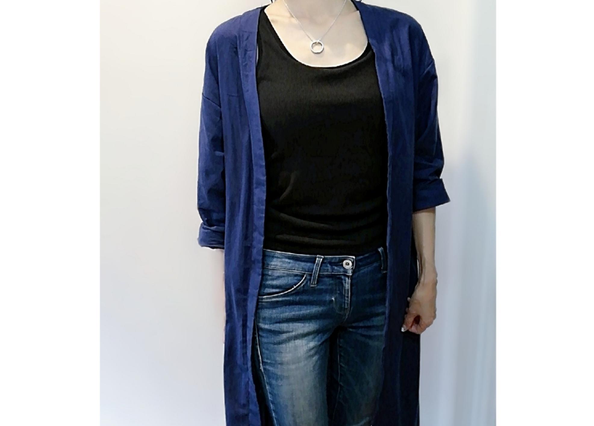 秋ファッションへのスイッチアイテムにピッタリ!!【タイドバイ】で綿麻トレンチコートを見つけました
