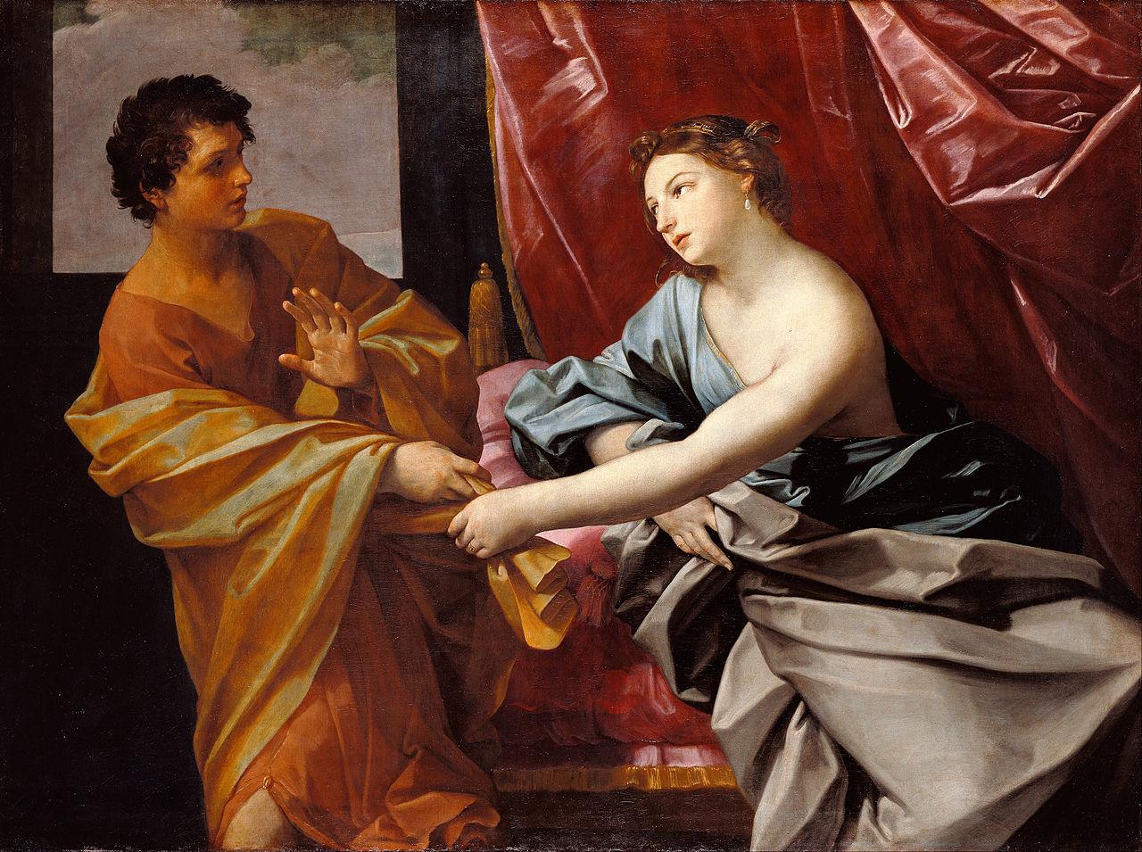 『ヨセフとポティファルの妻』 グイド・レーニ