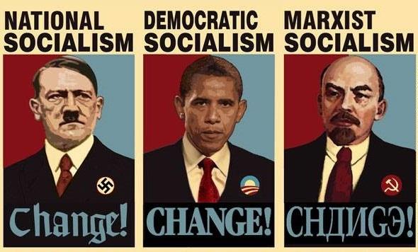社会主義者 ヒトラー オバマ レーニン