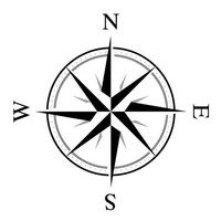 方位記号 1