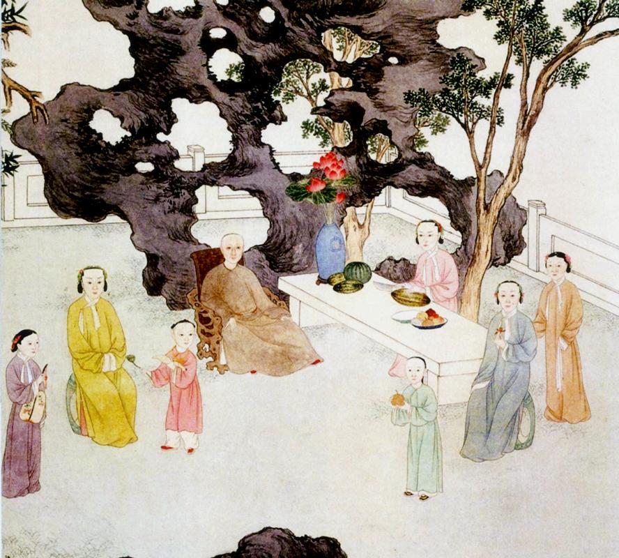 満洲族家庭