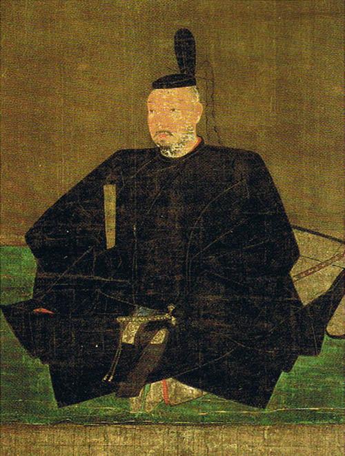 足利義輝肖像(土佐光吉筆、光源院蔵)