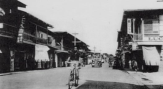 ダバオの日本人街(1930年代)