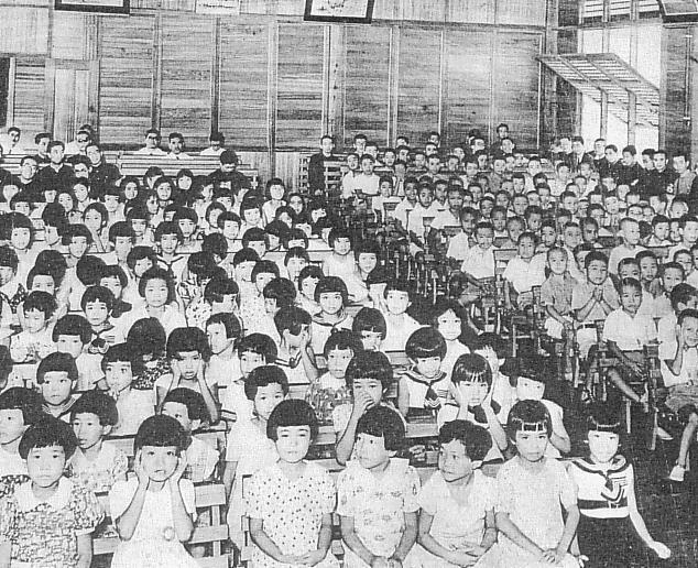 ダバオの日本人学校(1939年)。