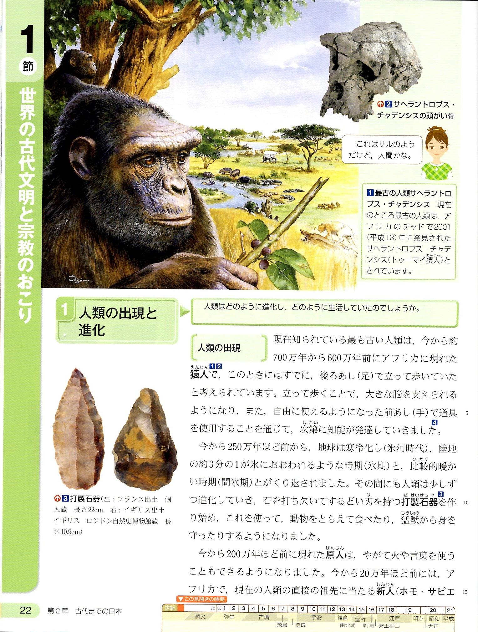 古代文明① 東京書籍