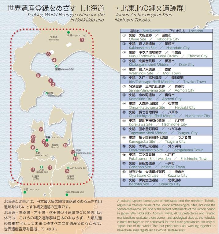 縄文遺跡 世界遺産 2