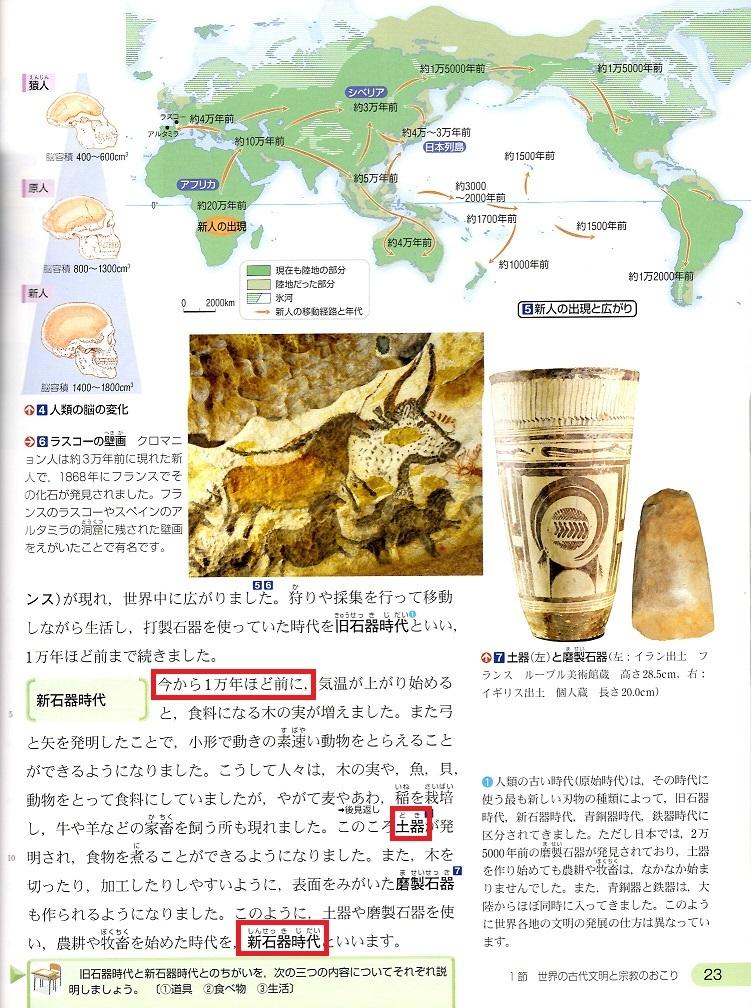 古代文明⓶ 東京書籍