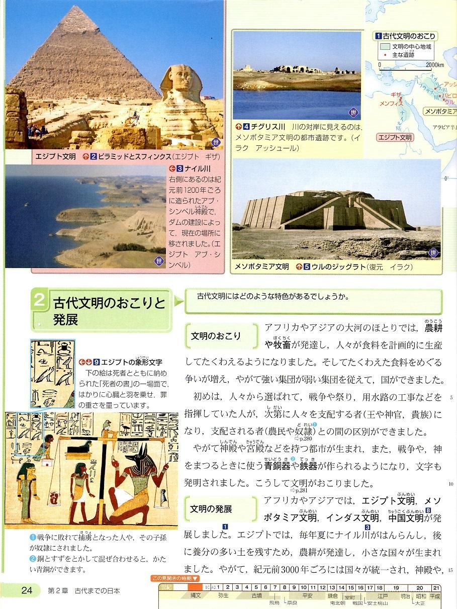 古代文明③ 東京書籍