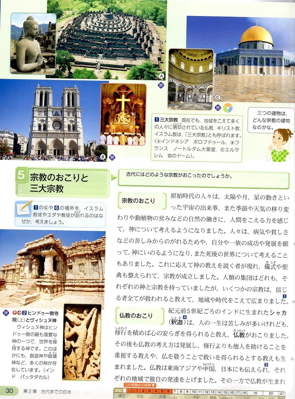 古代文明⑨ 東京書籍