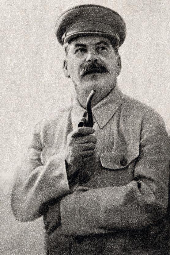 大粛清を行い、自国民への殺戮を行ったヨシフ・スターリン