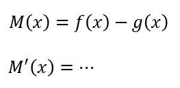 微分 550 引き算の函数の微分