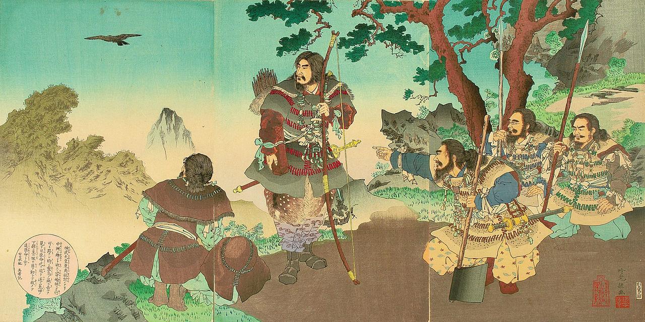 『神武天皇東征之図』安達吟光
