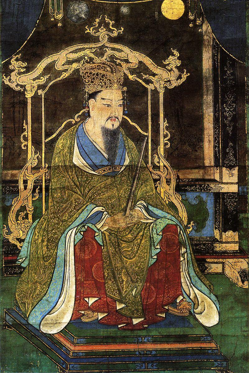 桓武天皇像(延暦寺蔵)