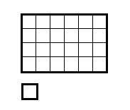 長方形の面積 1