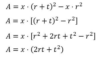 円の面積 9