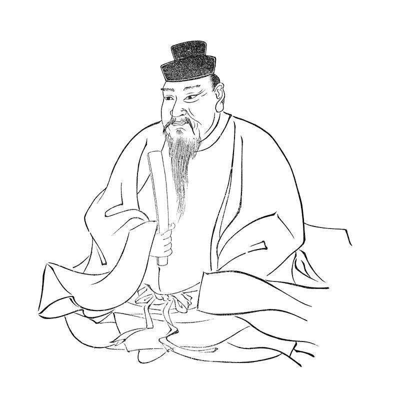 応神帝御影(『集古十種』より)