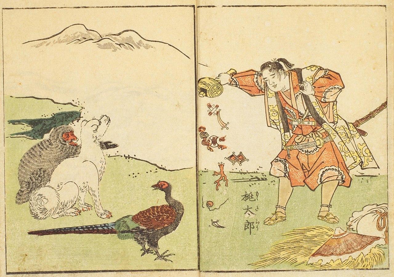 日本の桃太郎の「昔話」と、支那の三国志という「作り話」