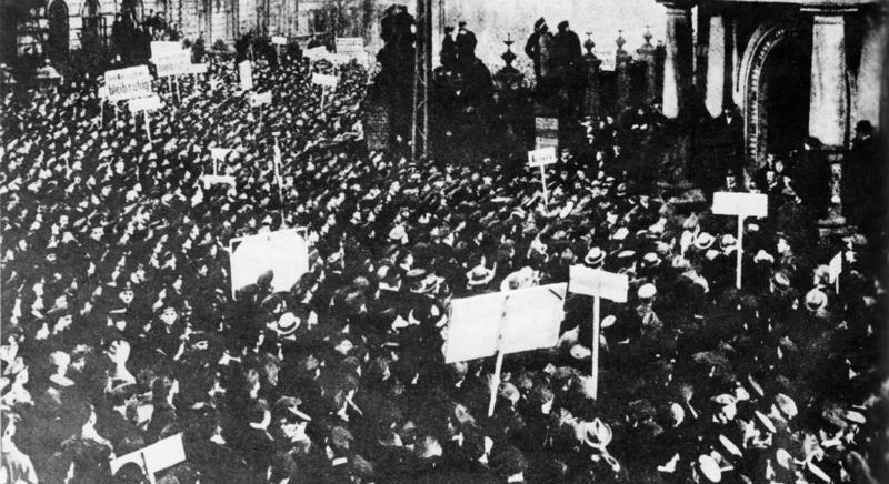 キールでの労働者の蜂起(1918年11月4日)