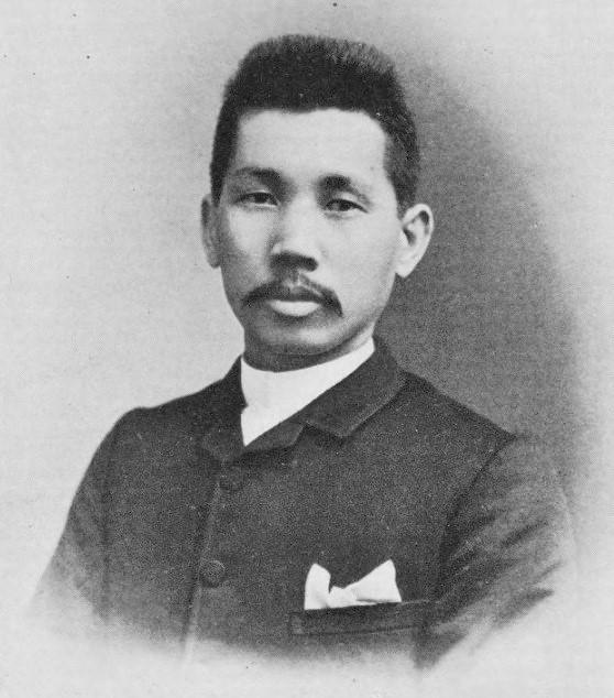 25歳の片山潜。1884年