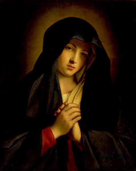 「悲しみの聖母マリア」 ジョヴァンニ・バッティスタ・サルヴィ