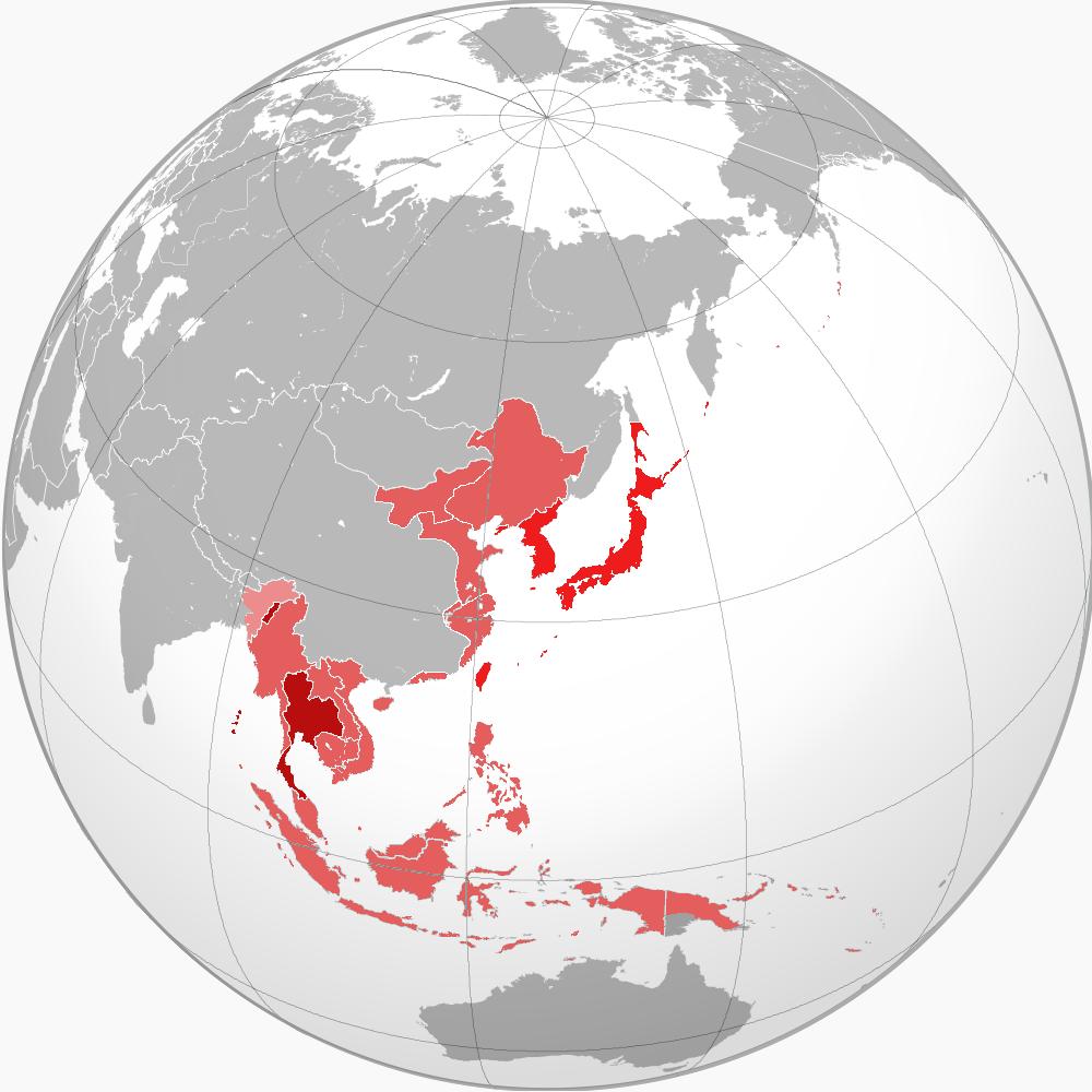 大東亜共栄圏加盟国
