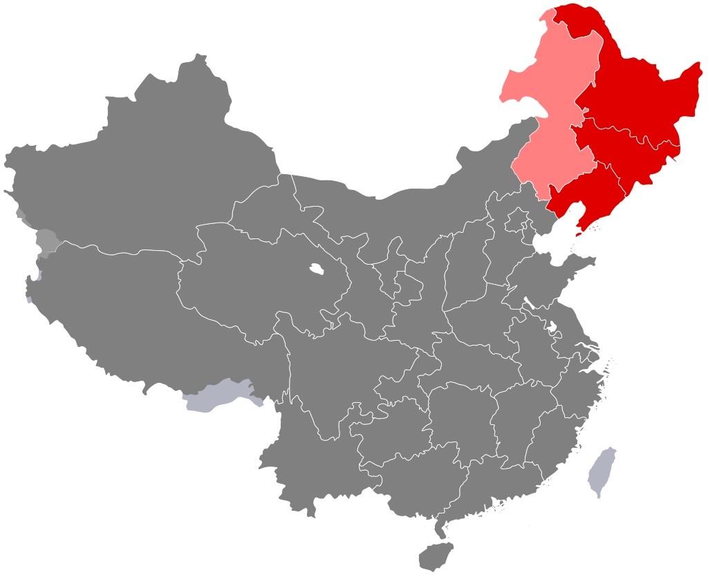 中国東北部