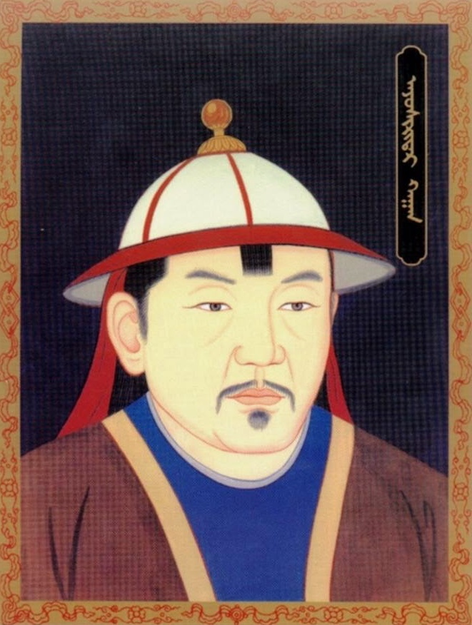 モンゴル帝国第16代皇帝(大ハーン)アユルシリダラ