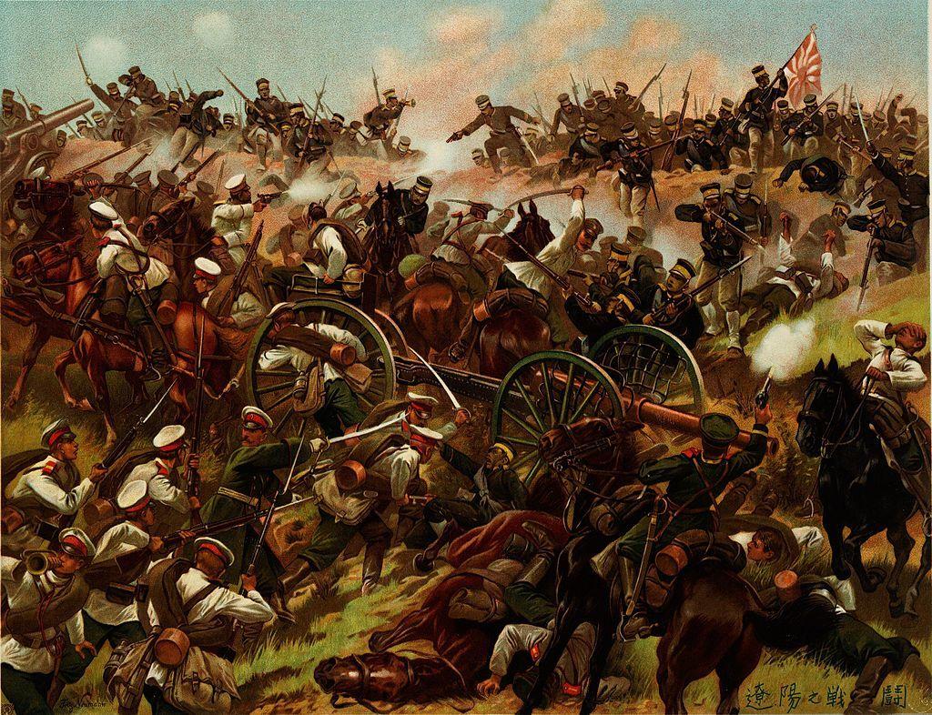 遼陽会戦、1904年