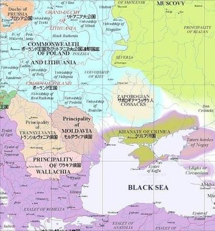1600年のヨーロッパ 2