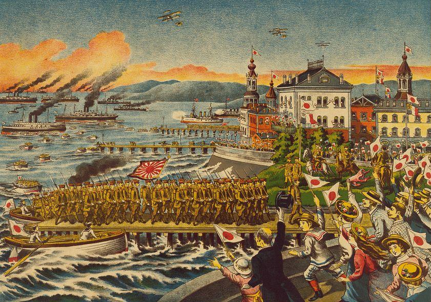 シベリア出兵を伝える日本の画報(救露討独遠征軍画報)