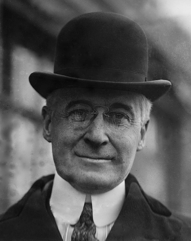 バーナード・バルーク(1920年)