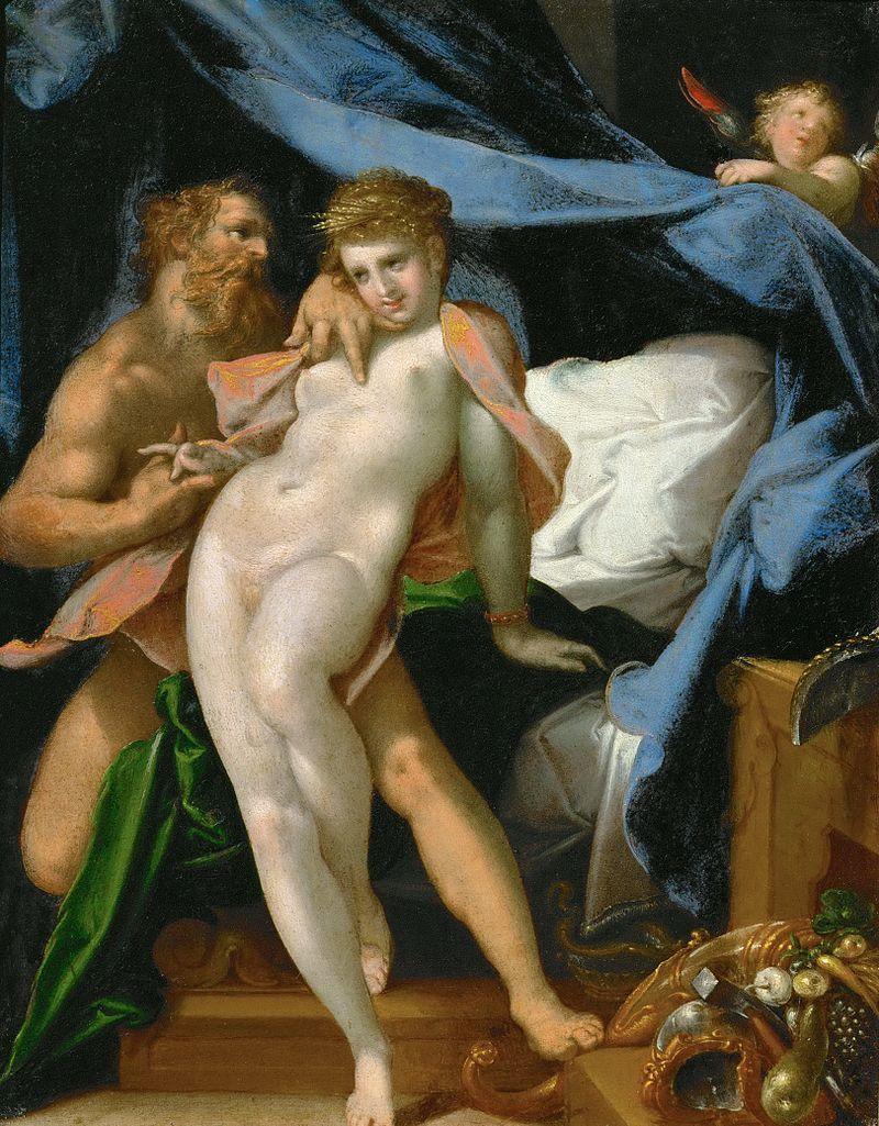 『ヴァルカンとマイア』 バルトロメウス・スプランヘル