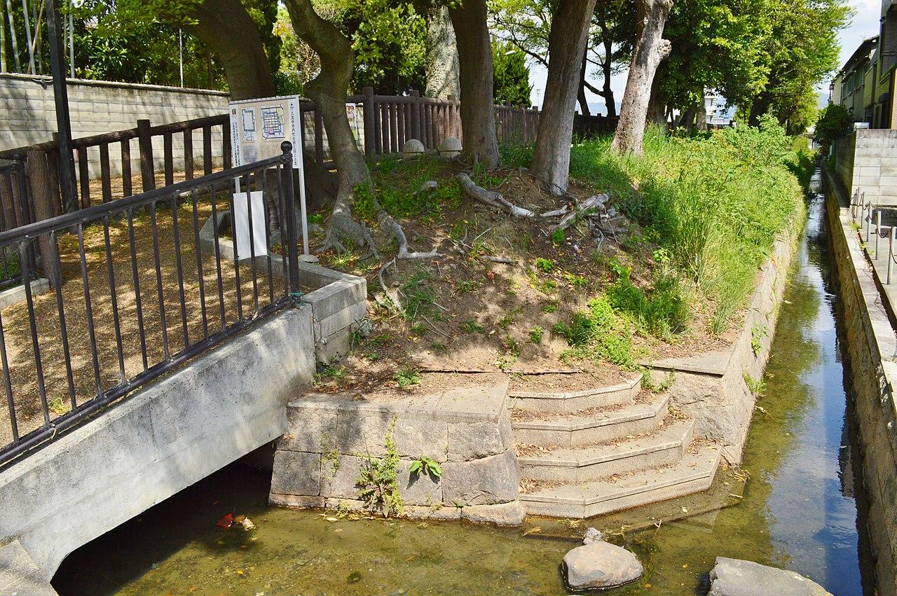 大阪府八尾市の久宝寺寺内町の環濠