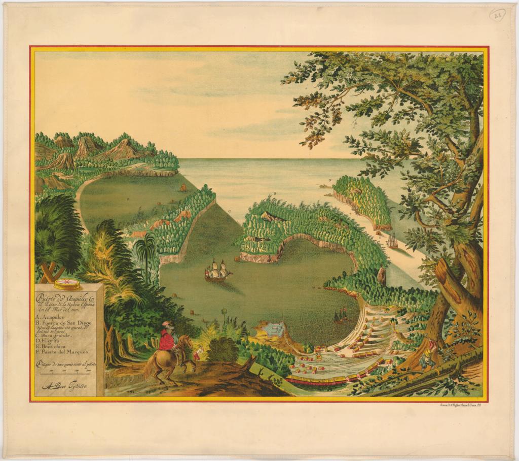 アカプルコ港(1628年)
