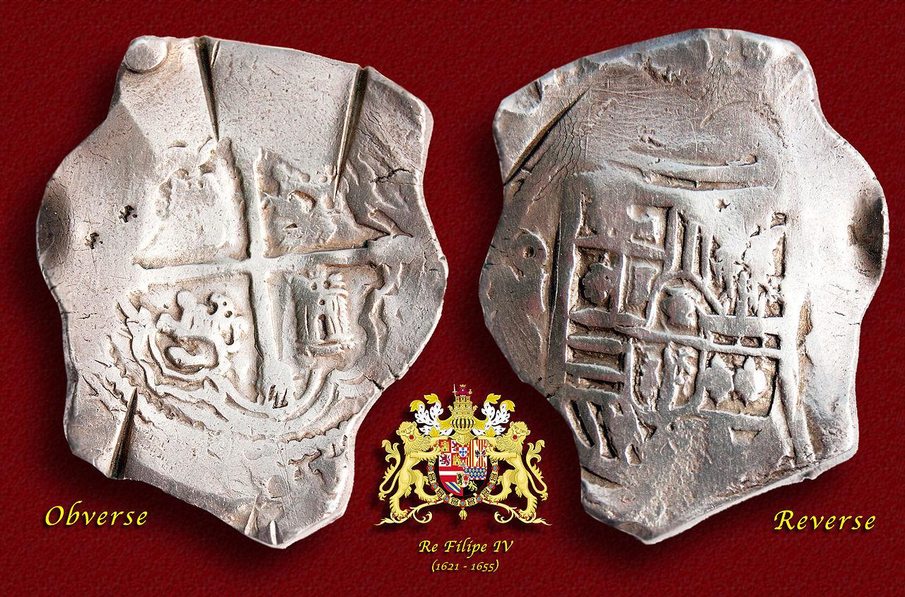 メキシコ産スペインドル(1650年)