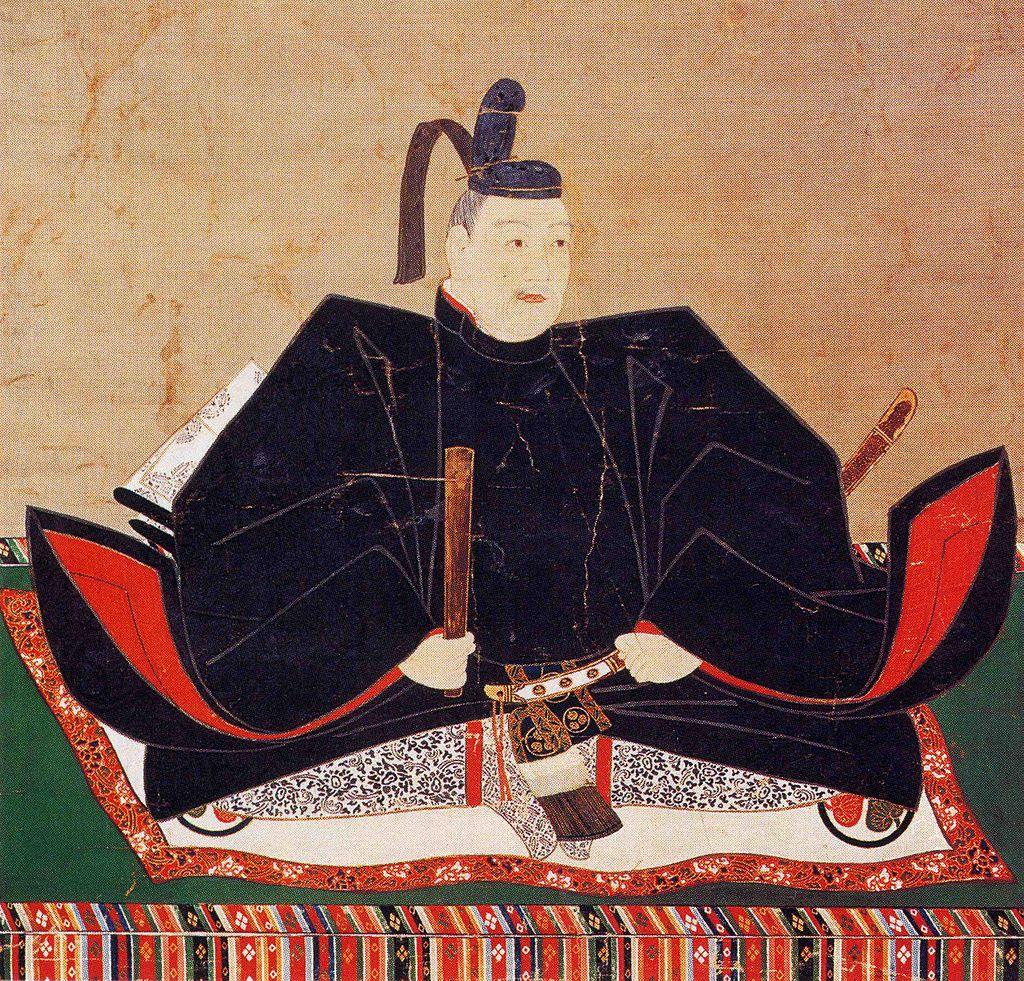 徳川秀忠像(松平西福寺蔵)