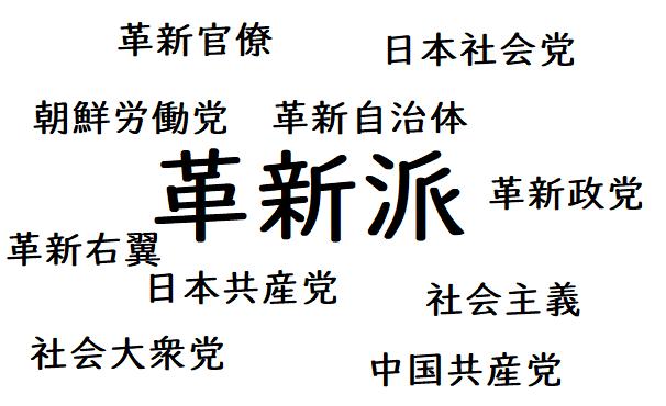 戦後の日本社会党も日本共産党も、そして戦前に戦争を引き起こした連中も、悪いのはすべて「革新派」です