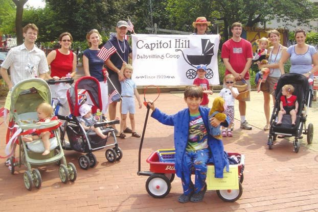 Capitol_Hill_Babysitting_Coop,_July_4th_parade
