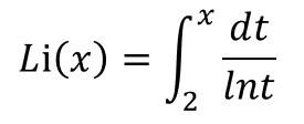 ガウス素数公式2