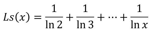ガウス素数公式2´