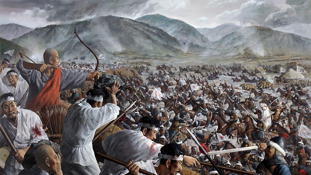 モンゴルを蹴散らした日本人、モンゴルに征服された高麗人