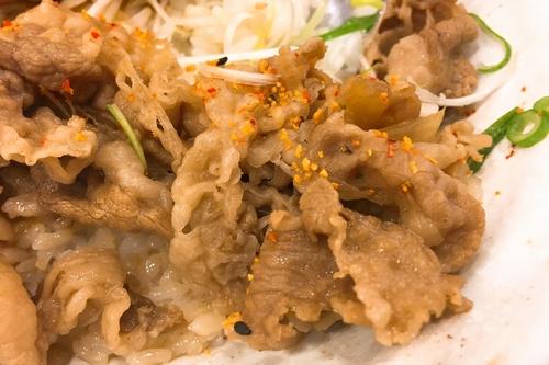 松屋豚角煮丼 (5)