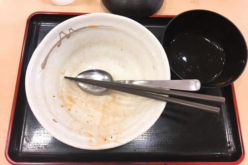 松屋豚角煮丼 (8)