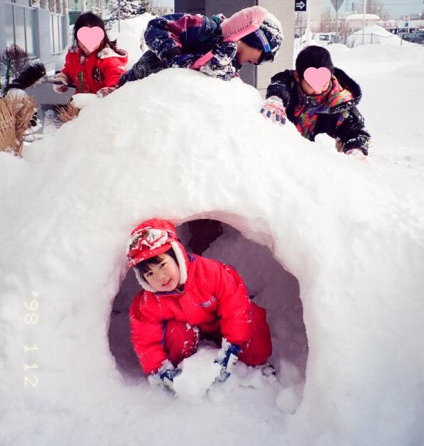 雪遊び20年前4