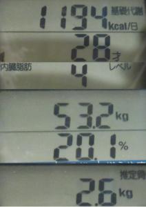 20190216体重変化
