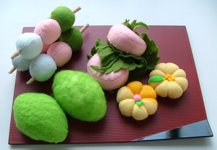 昔作ったひな祭り菓子