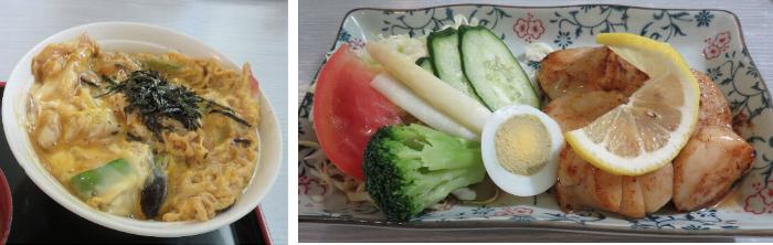 20910526鵡川道の駅お昼ご飯