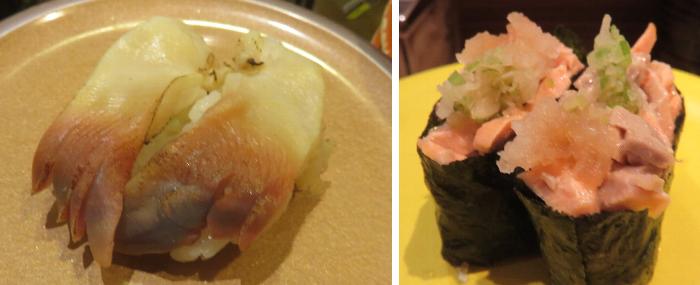 パサール 炙りホッキ・焼き鮭