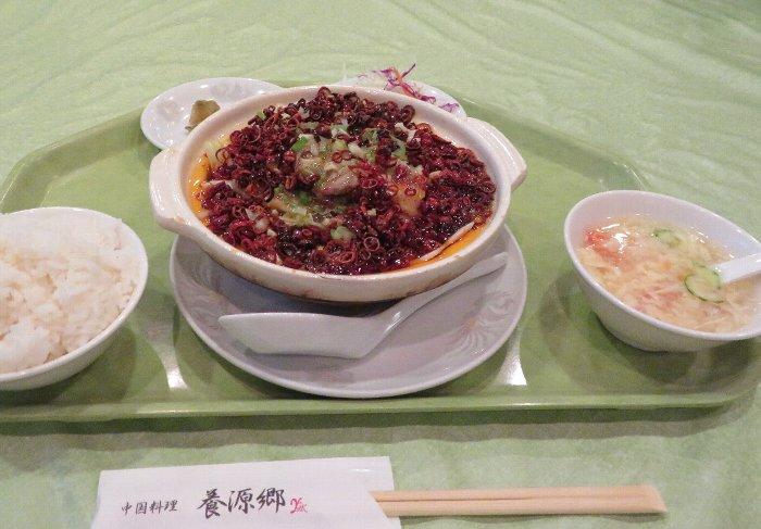 土鍋白身魚四川白菜煮込